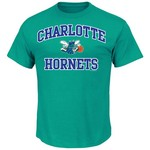 Majestic Men's Charlotte Hornets Hardwood Classics Heart and Soul T-shirt