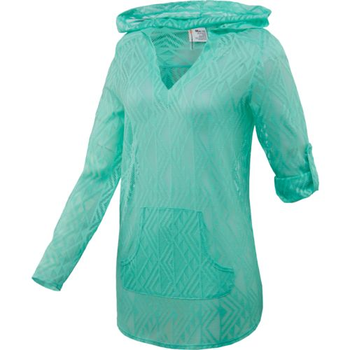 O'Rageous® Girls' Crochet Hooded Cover-Up