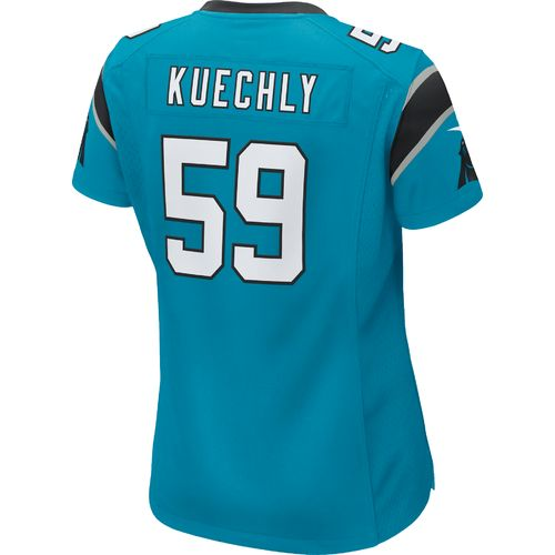 Nike Women's Carolina Panthers Luke Kuechly #59 Alternate Replica Jersey