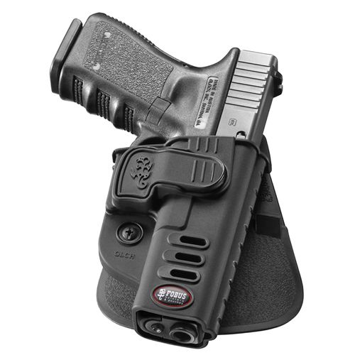 Fobus GLOCK 17/19/22/23/31/32/34/35 Rapid-Release Paddle Holster