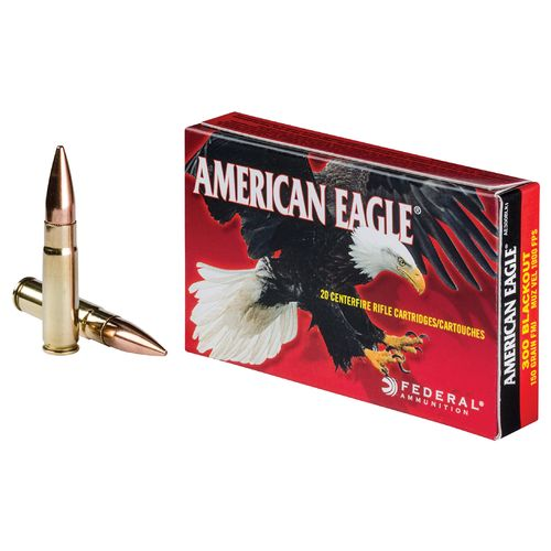 Federal® American Eagle® Training Full Metal Jacket Boat-Tail .300 Blackout 150-Grain Ammu