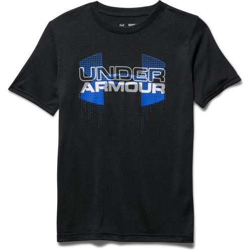 Under Armour Boys' Big Logo Hybrid T-shirt - view number 3