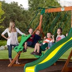 Backyard Discovery™ Tanglewood Wooden Swing Set - view number 4