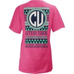 Three Squared Juniors' Clemson University Cheyenne T-shirt