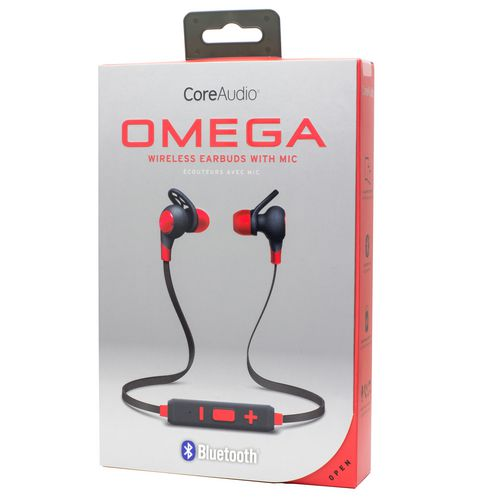 CoreAudio Omega Wireless Earbuds with Microphone