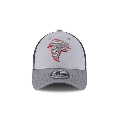 New Era Men's Atlanta Falcons Grayed Out Neo 39THIRTY Cap - view number 4