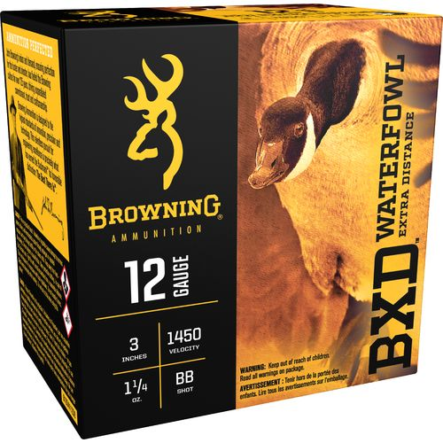 Browning BXD Extra-Distance Steel Waterfowl 12 Gauge Shotshells