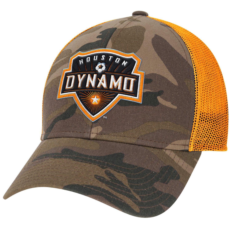 adidas™ Men's Houston Dynamo Camo Structured Adjustable Cap