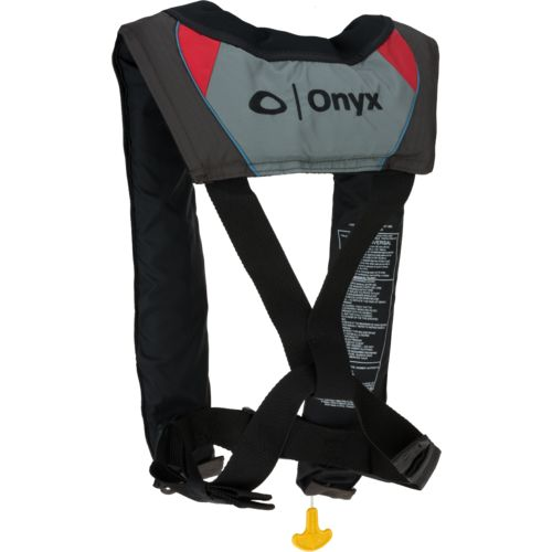 Onyx Outdoor Adults' A-33 Automatic Stole Insight Inflatable Life Jacket - view number 2