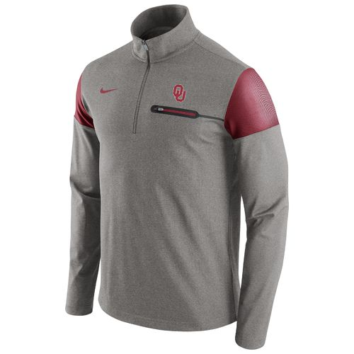 Nike™ Men's University of Oklahoma Coaches 1/2 Zip Jacket