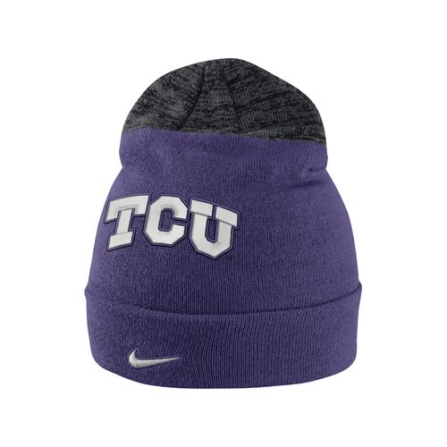Nike™ Men's Texas Christian University Sideline Knit Cap