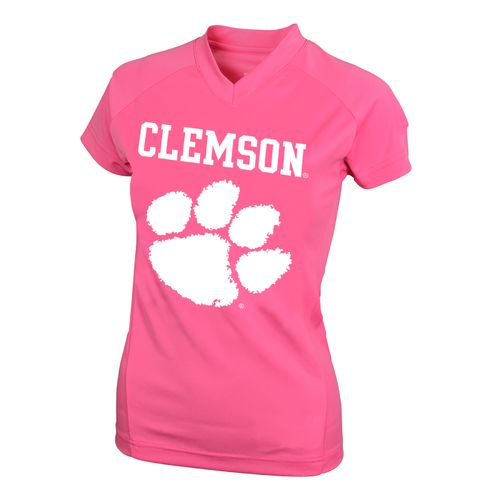 NCAA Kids' Clemson University #1 Perf Player T-shirt