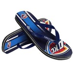 Forever Collectibles™ Adults' Oklahoma City Thunder Gradient Big Logo Flip-Flops
