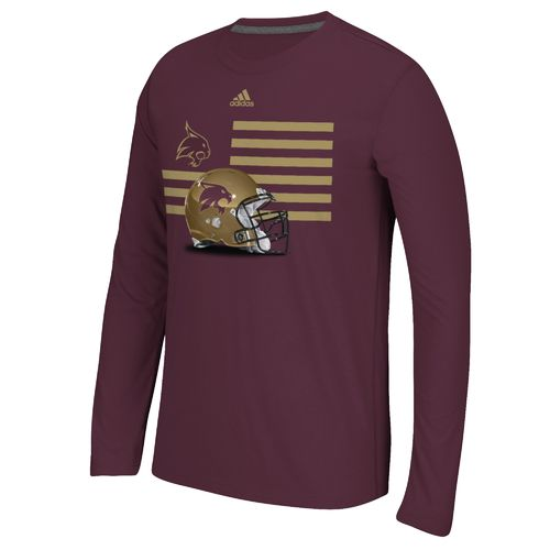adidas™ Men's Texas State University Prevent Defense T-shirt