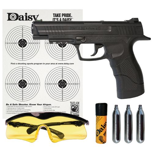 Display product reviews for Daisy® Powerline 415 Semiautomatic CO₂ Pistol Kit