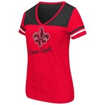 Colosseum Athletics™ Women's University of Louisiana at Lafayette Rhinestone Short Sleeve T