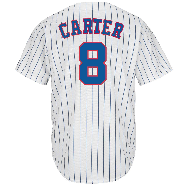 Majestic Men's Montreal Expos Gary Carter #8 Cooperstown