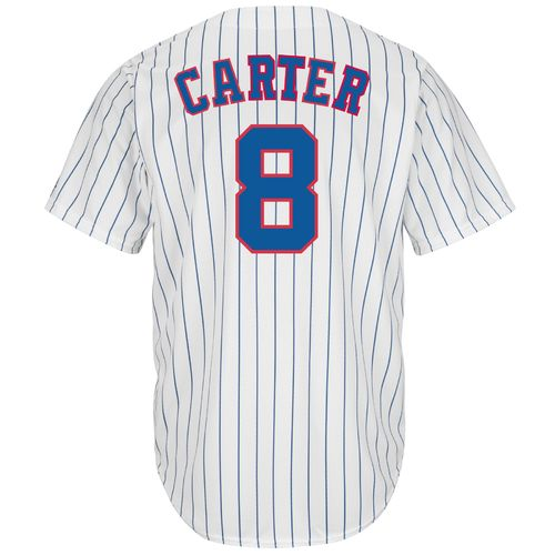Majestic Men's Montreal Expos Gary Carter #8 Cooperstown Cool Base Replica Jersey