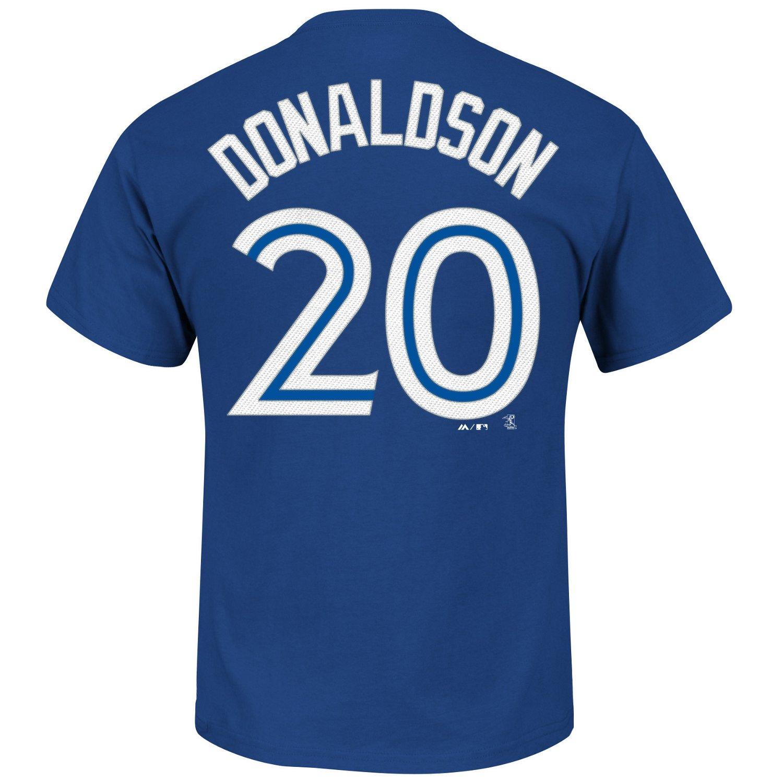 Majestic Men's Toronto Blue Jays Josh Donaldson #20 T-shirt