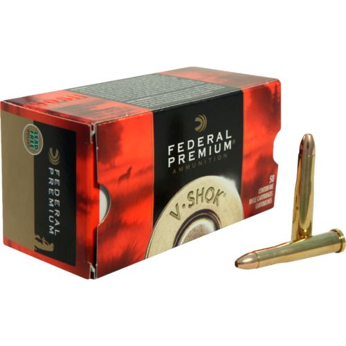 Federal Premium V-Shok .22 WMR TNT Hollow-Point Rimfire Ammunition
