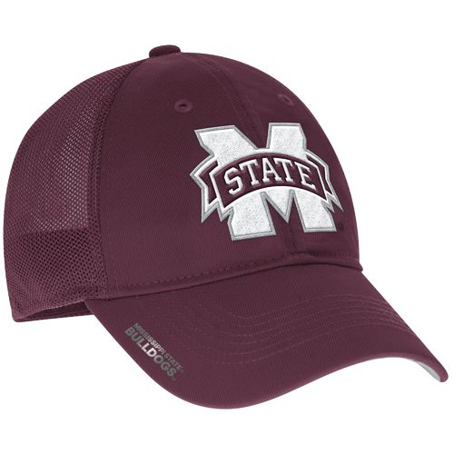 adidas™ Men's Mississippi State University Coach Flex Meshback Slope Cap
