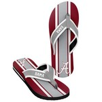 Forever Collectibles™ Men's University of Alabama 2016 Contour Stripe Flip-Flops