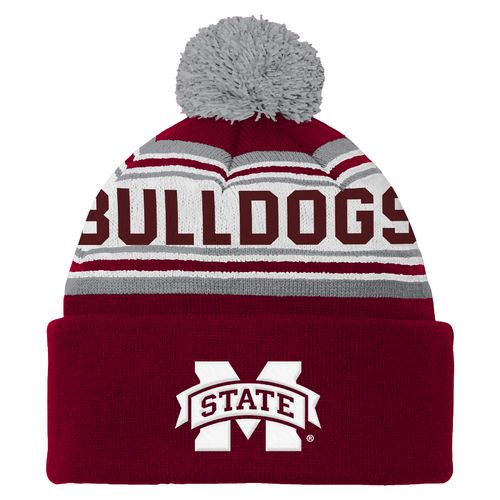 adidas™ Boys' Mississippi State University Cuffed Knit Cap
