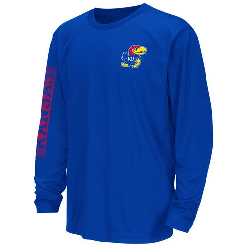 Colosseum Athletics™ Juniors' University of Kansas Long Sleeve T-shirt