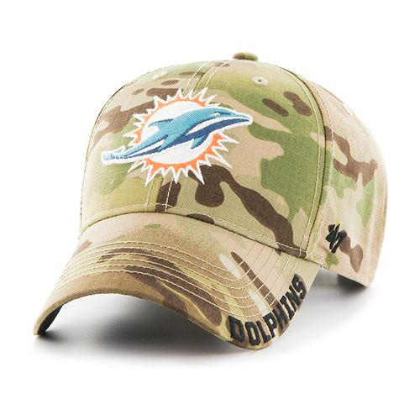 '47 Miami Dolphins Myers Camo MVP Cap