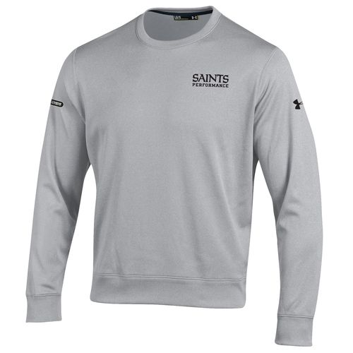 Under Armour™ NFL Combine Authentic Men's New Orleans Saints Armour® Fleece Crew Pullo