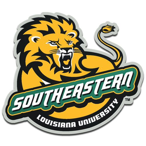 Stockdale Southeastern Louisiana University Laser-Cut Auto Emblem