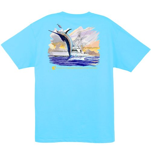 Guy Harvey Men's CCA Sportboat Pocketed T-shirt