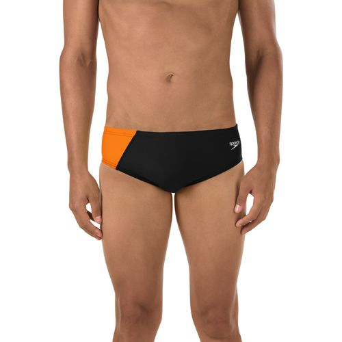 Speedo Men's Revolve Splice Swim Brief
