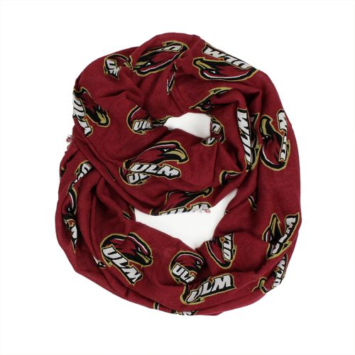 ZooZatz Women's University of Louisiana at Monroe Infinity Scarf
