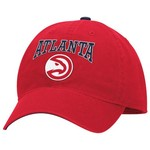 adidas™ Men's Atlanta Hawks Lifestyle Slouch Adjustable Cap