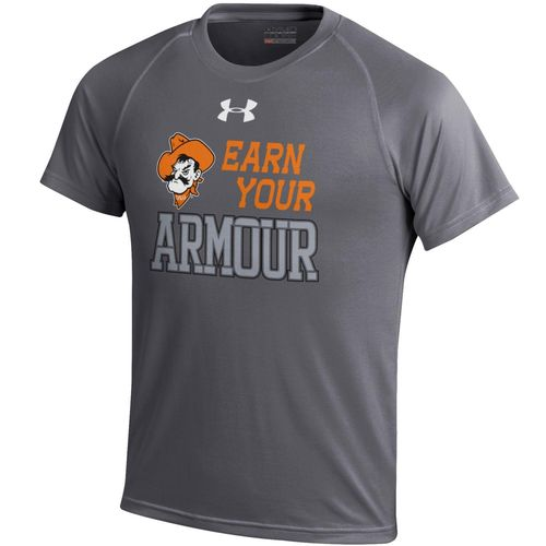 Under Armour™ Boys' Oklahoma State University Tech T-shirt