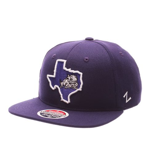 Zephyr Men's Texas Christian University Statement Cap