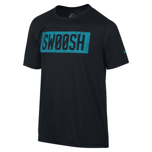 Nike Boys' Legend Swoosh Block Buzz T-shirt