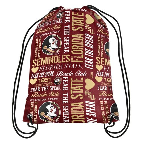 Forever Collectibles™ Women's Florida State University Drawstring Backpack