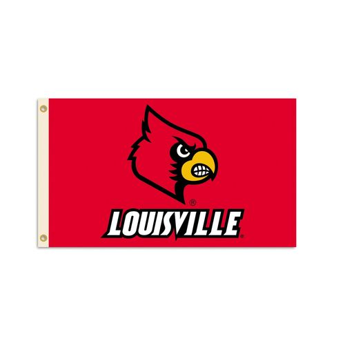 BSI University of Louisville 3' x 5' Flag - view number 1