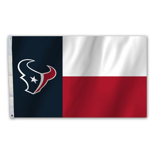 Fremont Die Houston Texans 3' x 5' Flag