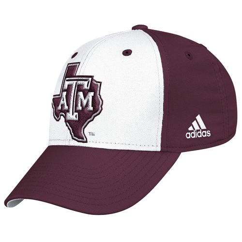 adidas™ Men's Texas A&M University Structured Flex Cap - view number 1
