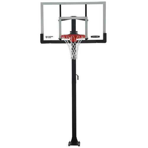 Lifetime 54 in Inground Tempered-Glass Basketball Hoop