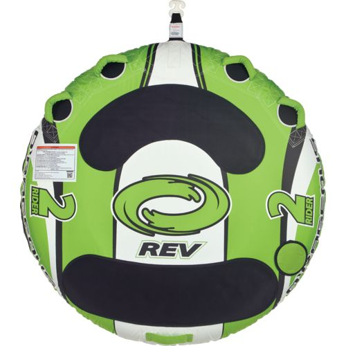 Display product reviews for O'Rageous REV 2-Person Round Deck Tube