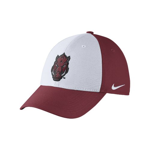 Nike Men's University of Arkansas Dri-FIT Wool Swoosh Flex Cap