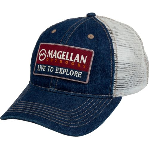 Magellan Outdoors Men's Adventure Denim Trucker Hat