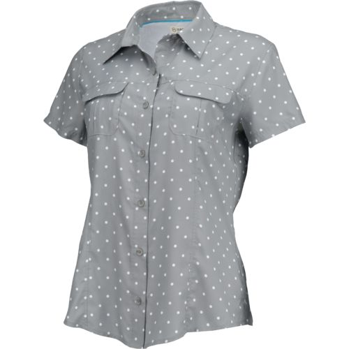 Display product reviews for Magellan Outdoors Women's Aransas Pass Short Sleeve Printed Top