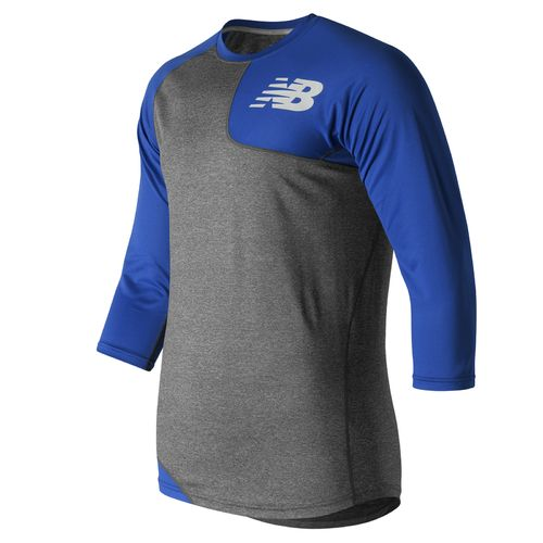 New Balance Men's Asymmetrical Baseball T-shirt Left-handed