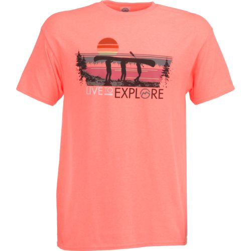 CCA Men's Live to Explore Canoe T-shirt