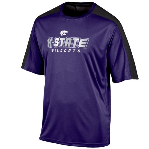 Champion™ Men's Kansas State University Colorblock T-shirt